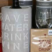 Weinkühler Save Water Drink Wine klein